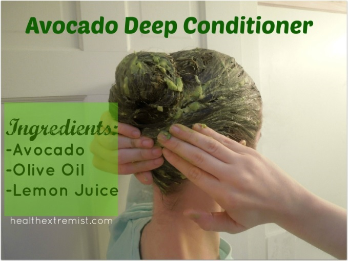 get silky soft hair with a hair avocado mask health extremist. Black Bedroom Furniture Sets. Home Design Ideas