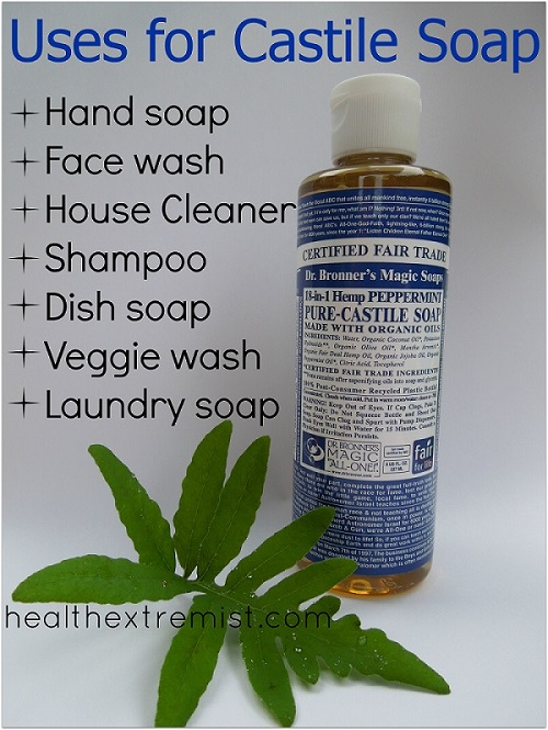 castile soap uses
