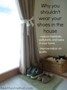 Why You Shouldn't Ever Be Wearing Shoes in the House