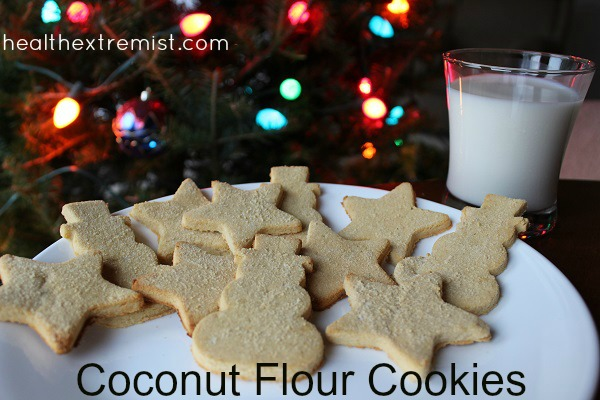 Cut-Out Coconut Flour Cookies Recipe