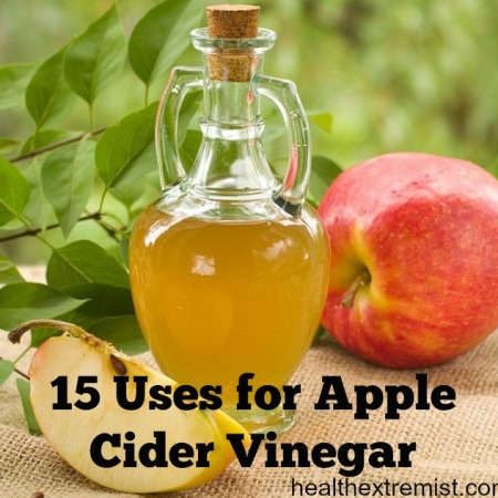 15 Uses for Apple Cider Vinegar – Acne, Hair Conditioner, Weight Loss & Cleaning