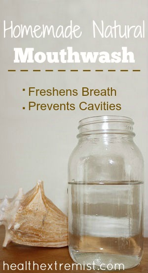 DIY Natural Mouthwash Recipe