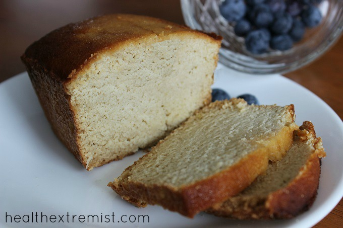 Coconut Flour Loaf Bread Recipe