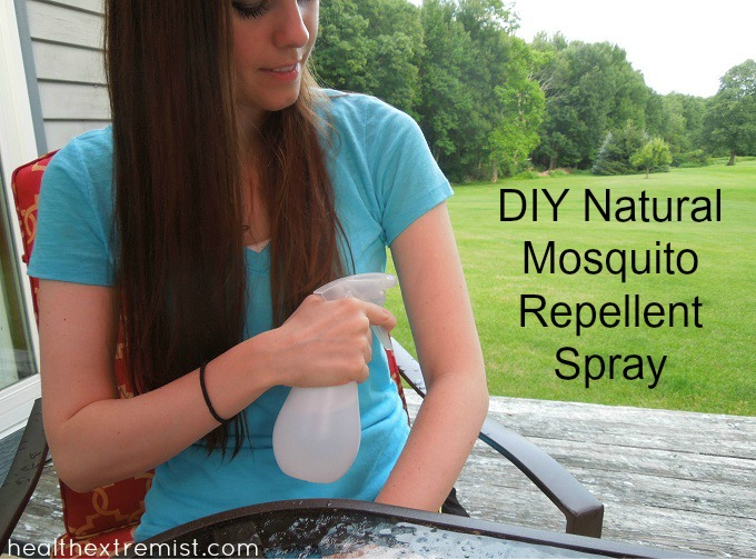 Make Your Own Natural Mosquito Repellent Spray